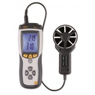 The Geo Fennel FTA 1 Thermometer-Anemometer is a professional remote vane thermo-anemometer for measuring air flow, air velocity and temperature