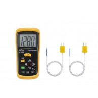 The Geo Fennel FT 1300-2 Professional K-Type thermometer with dual input