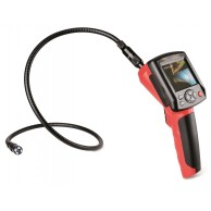 Video borescope for inspection and survey of inaccessible areas. Photos and videos can be memorized for documentation purposes