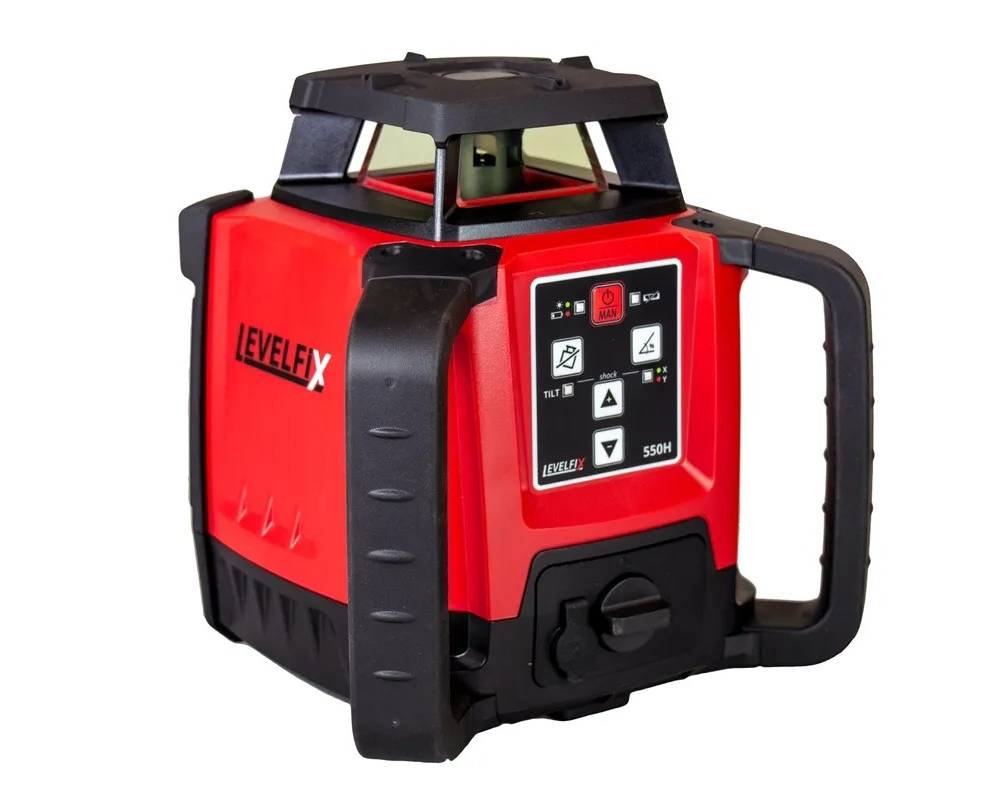 levelfix 550h horizontal red beam laser level