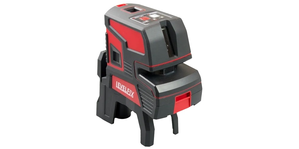 levelfix  cpl206r: red cross line & 6 point laser level