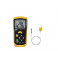 The Geo Fennel FT 1300-1 Professional K-Type thermometer with single input